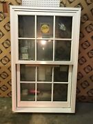 Pella New Double Hung Window 37w X 59h Impact With Installation Kit. Shipping.
