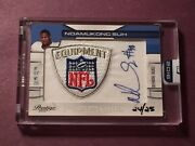 Ndamukong Suh 2016 Honors Recollectioncollection Nfl Equipment Logo Auto S24/25