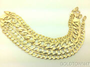 2.6mm- 11.5mm 14k Solid Yellow Gold Cuban Link Women/ Menand039s Chain 16-30