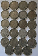 Sweden / 1 Krona Collection Of 23 Silver Coins - Different Dates