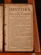 1721 History Of The Tales Of The Fairies Very Scarce Marie-catherine D'aulnoy
