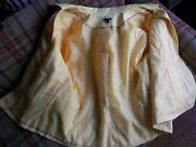 East 5th Womens Size 3x Yellow 98/2 Cotton/spandex Jacket