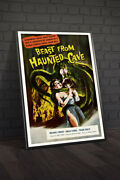 Beast From Haunted Cave 1959 Movie Poster Framed