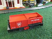 Lionel P/w 55 Tie Jector Car Runs Well Works As It Should Has Issue 1957-61