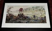Dale Gallon - Little Roundtop-valley Of Death - Collectible Civil War Print