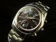 Frederique Constant Watch Valjou Cal 7750 Chronograph Never Used W/box Paper