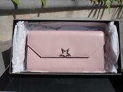 Golden Goose Deluxe Brand Vedette Pink Leather And Leather Lined Wallet Italy Nib