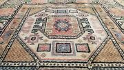 Beautiful Vintage 1950-1960snatural Dye Wool Pile Rug From Cappadocia 3andrsquox 6andrsquo2andrdquo