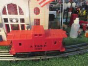 Marx Post War Era 4427 A,t.and S.f. Red Caboose Exc Plus Orig Condition