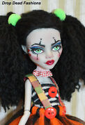 Custom Ghoulia Yelps Monster High Doll Repaint Ooak By Drop Dead Fashions