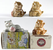 Wade Kittens With Balls Group 1967-1996 Set Of 4
