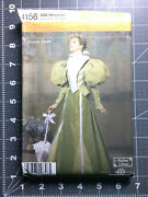 Simplicity 4156 Pattern Victorian Dress Gown Misses 6 8 10 12 Uc Ff