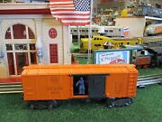 Lionel Post War X3464 Atandsf Operating Box Car Exc Orig Cond Works Well 1949-52