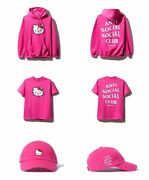 Assc X Hello Kitty Bundle Size Small Anti Social Social Club In Hand Authentic