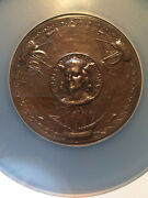 1893 Eglit 98b 57mm Committee Of 100 Citizens Of Ny World Columbian Expo Ms 64