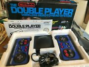 Double Player Wireless Head To Head System In Box Nintendo Akklaim Nes Hq
