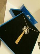 New Hsn Gold Tone Natural Stones Necklace