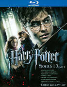 Harry Potter Years 1-7, Part 1 Blu-ray Disc, 2011, 9-disc Set