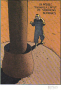 Moebius Art Color Lithograph Jean Giraud Hand Signed Coa Page 34