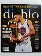 Stephen Curry Golden State Warriors Autographed Rare Magazine W/ Coa And Proof