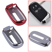 Smart Tpu Key Cover Fob Case Fit For Jeep Dodge Durango Journey Chrysler 200 300
