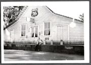 Vintage Photograph 1930-40's Whitmore California Post Office Tobacco Signs Photo