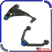2pcs New Control Arm Front Right Upperandlower Fits 2001 Mercury Mountaineer Base