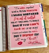 Marilyn Monroe Quote Two-sided Dashboard For Use With Erin Condren Life Planner