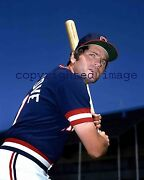 Mike Hargrove Topps 1979- 85 Indians 1991-99 Indians Mgr Color 8x10 A