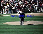 Comiskey Park Last Game Old Comiskey Park 9/30/90 Mayor Daley  Color 8x10