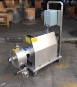 Mobile Emulsion Pump High Shear Emulsifying Pump 7.5kw With Wheels S