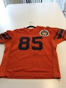 Game Worn Used Clemson Tigers Football Jersey 85 Size 48 Throwback