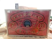 Craps Game Tabletop Trade Stimulator Great Lakes Coin Machine Co. Dice Slot