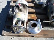 Ampco Model C328md21t-s Centrifugal Pump S/s Contact 7.5hp Tri Clamp