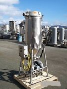 Azo Mfg Dust Collector S/s 3 Tri Clamp Fittings