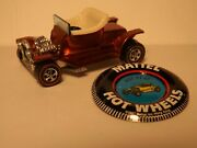 Hot Wheels Red Line Hot Heap In Red Original Owner No Play Near Perfect Cond