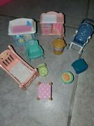 Fisher Price Loving Family Dream Doll House Dollhouse Baby Bundle