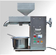 30kg/h Commercial Electric Hot And Cold Oil Press Machine Stainless Steel Ssj