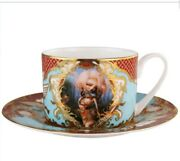 Kukula Limited Edition 24k Gold Tea Cup Saucer And Print Signed Sold Out
