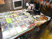 Microsoft Xbox 360s 250 Gb Bundle Kinect Holiday Bundle Huge Lot Excellent Cond