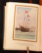 1932 Royal Yachts C. M. Gavin First Limited Edition Colour Illustrated