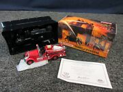1935 Mack Ab Fire Engine Matchbox Die-cast 143 Collectible Yesteryear Truck New