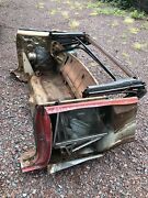 1964 1965 Gto 442 Gs A Body Rear Section W/ All Quarter Windows And Rear Jambs
