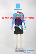 Apollo Justice Ace Attorney Trucy Wright Cosplay Costume Include Hat