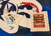 Disney Wishes Fireworks Farewell Passholder Great Movie Ride Ornament Sold Out