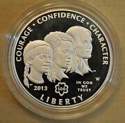 2013 Girl Scouts Centennial Proof 90 Silver Dollar Us Mint Coin With Box And Coa
