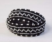Traditional Collectible Antique Native North American Beaded Handmade Belt Snake