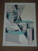 Circulate System Shift Augustine Kofie Signed Print Poster 1xrun Pow Wow Hawaii