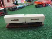 Lionel P/w 0830 Ho Reading Flat Car With Cooper Jarrett 58-66 Exc Cond