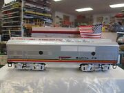 Lionel Modern 8777 Santa Fe F-3 B Unit With Alterations Horn And Port Holes 1977